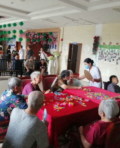养老院活动